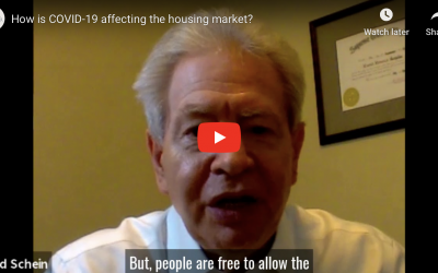 4/22 Market Discussion- How is COVID-19 affecting thehousing market?